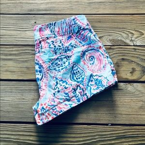 Lilly Pulitzer Shorts - Lilly Pulitzer 'Shell Me About It' Walsh Shorts